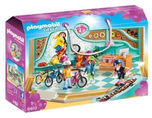 PLAYMOBIL 9402 - NEGOZIO DI SKATE E BICICLETTE