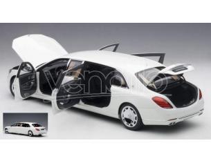 Auto Art / Gateway AA76296 MERCEDES MAYBACH S 600 PULLMAN 2016 WHITE/DARK GREY 1:18 Modellino