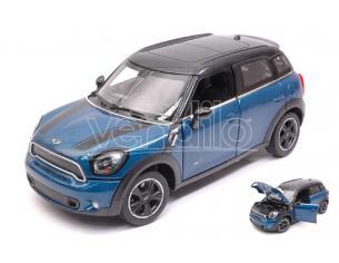 RASTAR RAT56400BL MINI COOPER S COUNTRY (R60) BLUE 1:24 Modellino