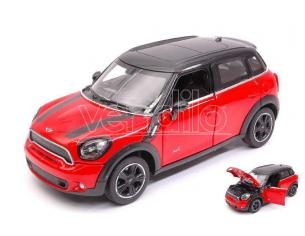 RASTAR RAT56400R MINI COOPER S COUNTRY (R60) RED/BLACK 1:24 Modellino