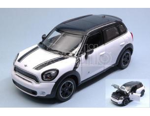 Ixo model RAT56400W MINI COOPER S COUNTRY (R60) WHITE/BLACK 1:24 Modellino