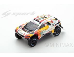 Spark Model S5618 PEUGEOT 2008 DKR N.319 6th DAKAR 2017 K.AL QASSIMI-P.MAIMON 1:43 Modellino