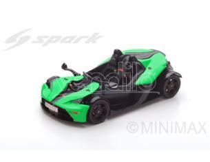 Spark Model S5665 KTM X-BOW (BALESTRA) R 2007 GREEN/BLACK 1:43 Modellino
