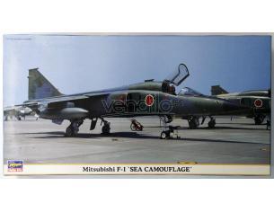 HASEGAWA 09897 MITSUBISHI F-1 SEA CAMOUFLAGE 1:48 KIT Modellino