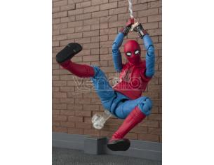 BANDAI SPIDER-MAN HOME SUIT + WALL SH FIGUARTS ACTION FIGURE