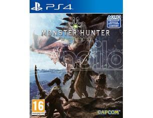 MONSTER HUNTER: WORLD GIOCO DI RUOLO (RPG) - PLAYSTATION 4
