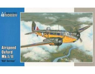 SPECIAL HOBBY 48122 AIRSPEED OXFORD MK.I/II RAF SERVICE 1:48 KIT Modellino