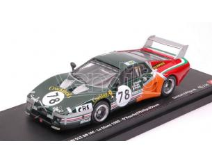 Best Model BT9690 FERRARI 512 BB N.78 23th LM 1980 O'ROURKE-DOWN-PHILLIPS LIM.50 1:43 Modellino