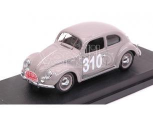Rio RI4558 VW MAGGIOLINO N.310 248th MONTE CARLO 1954 P.MOURIER-B.RAMSING 1:43 Modellino