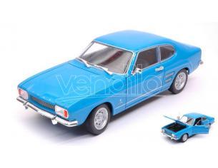 Welly WE24069BL FORD CAPRI 1969 LIGHT BLUE 1:24-27 Modellino