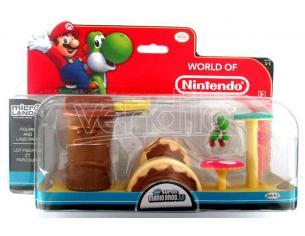 Micro Figura Nintendo Playset Yoshi Figures - Action