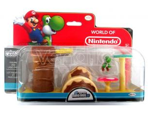 MICRO FIGURE NINTENDO PLAYSET YOSHI FIGURES - ACTION