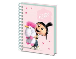 PYRAMID INTERNATIONAL DESP ME 3 SO FLUFFY NOTEBOOK TACCUINO
