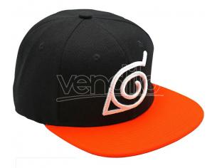 CAPPELLO NARUTO - BLACK & ORANGE GADGET
