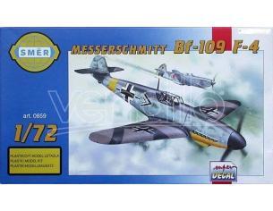SMER 0859 MESSERSCHMITT BF-109 F-4 1:72 KIT Modellino