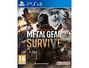 Metallo Gear Survive Azione - Playstation 4
