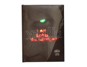 SD TOYS HP LORD VOLDEMORT NOTEBOOK W/LIGHT TACCUINO