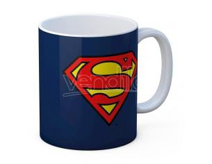 SD TOYS SUPERMAN LOGO CERAMIC MUG TAZZA