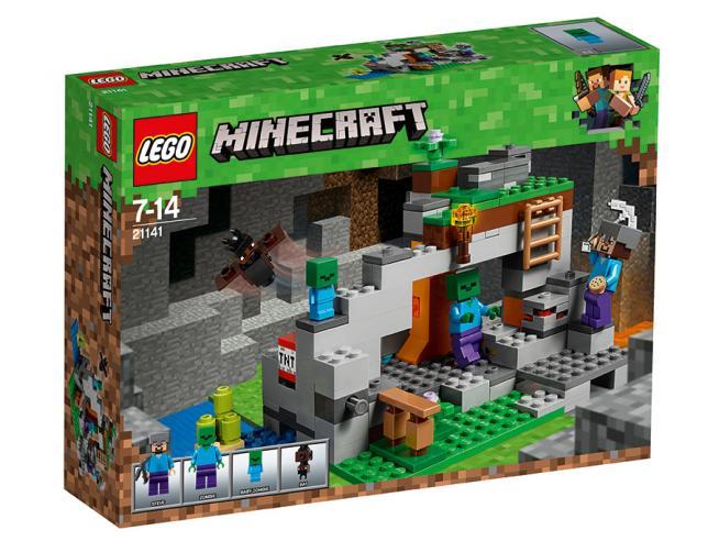LEGO MINECRAFT 21141 - LA CAVERNA DELLO ZOMBIE
