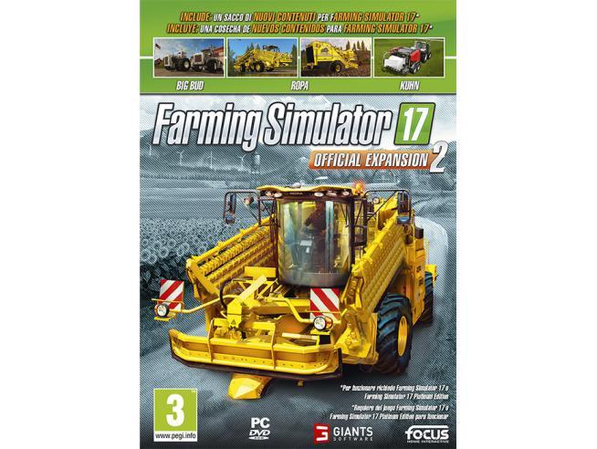 FARMING SIMULATOR 17 OFFICIAL EXPAN. 2 SIMULAZIONE - GIOCHI PC