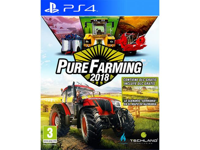 PURE FARMING 2018 SIMULAZIONE - PLAYSTATION 4