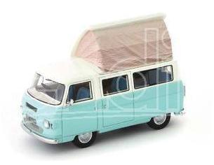 Autocult Atc09002 Commer Dormobile Sottobiecchiere 1972 Pastel Light Blue/cream 1:43 Modellino