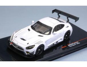 Ixo model GTM121 MERCEDES AMG GT3 WHITE RACE VERSION 1:43 Modellino