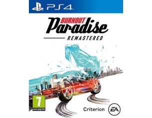 BURNOUT PARADISE REMASTERED GUIDA/RACING - PLAYSTATION 4