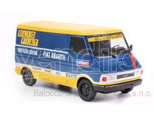 Ixo model RAC267 FIAT 242E OLIO FIAT 1976 RALLY SERVICE 1:43 Modellino