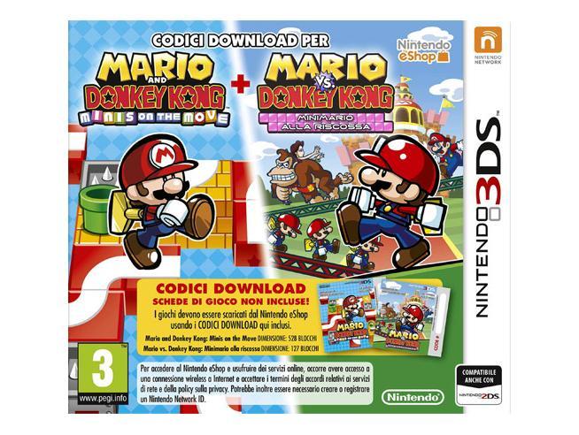 MARIO VS D. KONG: MINIS MARCH AGAIN (DL) PUZZLE - NINTENDO 3DS