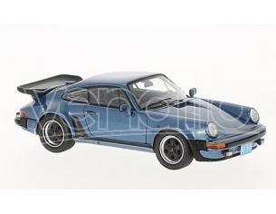 Neo Scale Models NEO43259 PORSCHE 911 (930) TURBO USA 1985 MET.BLUE 1:43 Modellino