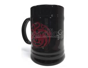PYRAMID INTERNATIONAL GAME OF THRONES TARGARYEN CERAMIC STEINS BOCCALE