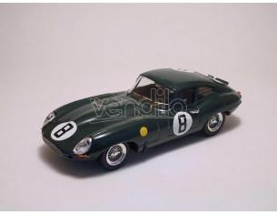 Best Model BT9161 JAGUAR E SPIDER N.8 DNF LE MANS 1962 M.CHARLES-J.COUNDLEY 1:43 Modellino