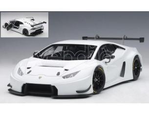 Auto Art / Gateway AA81527 LAMBORGHINI HURACAN GT3 2015 BIANCO ISIS/WHITE 1:18 Modellino