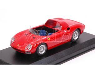 Best Model BT9699 FERRARI 250 LM SPYDER 1965 PROVA RED 1:43 Modellino