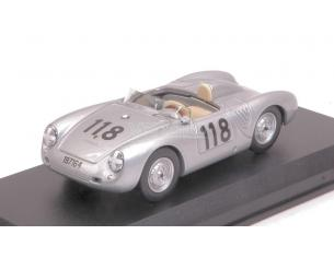 Best Model BT9701 PORSCHE 550 RS N.118 2nd T.FLORIO 1959 MAHLE-STRAHLE-LINGE 1:43 Modellino