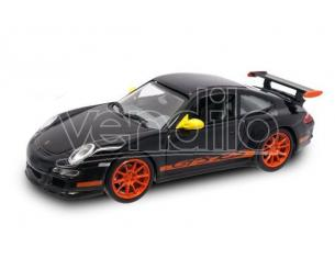 Hot Wheels LDC43204BK PORSCHE 997 GT 3 RS 2006 BLACK 1:43 Modellino