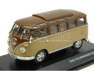Hot Wheels LDC43209BN VW MICROBUS 1962 2 TONE BROWN 1:43 Modellino