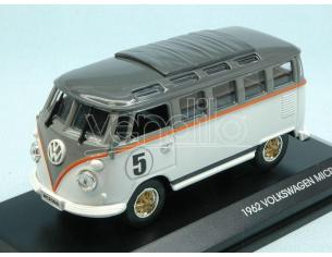 Hot Wheels LDC43209WH VW MICROBUS 1962 N.5 WHITE W/GREY ROOF 1:43 Modellino