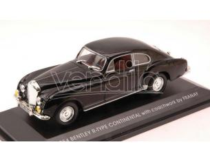 Hot Wheels LDC43212BK BENTLEY R-TYPE CONTINENTAL 1954 BLACK 1:43 Modellino