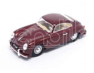 Hot Wheels LDC43218BG PORSCHE 356 1956 BURGUNDY 1:43 Modellino