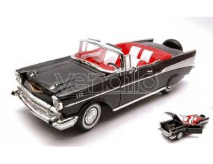 LUCKY DIE CAST LDC92108BK CHEVROLET BEL AIR 1957 BLACK 1:18 Modellino
