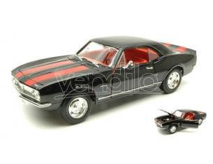 LUCKY DIE CAST LDC92188BK CHEVROLET CAMARO Z 28 1967 BLACK 1:18 Modellino