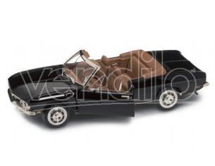 Hot Wheels LDC92498BK CHEVROLET CORVAIR MONZA CABRIO 1969 BLACK 1:18 Modellino