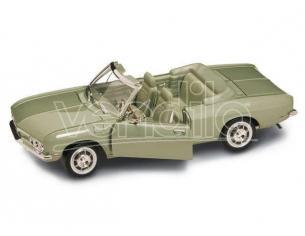 Hot Wheels LDC92498GN CHEVROLET CORVAIR MONZA CABRIO 1969 METALLIC GREEN 1:18 Modellino