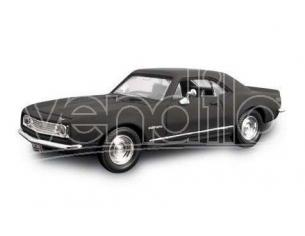 Hot Wheels LDC94216MBK CHEVROLET CAMARO Z-28 1967 MATT BLACK 1:43 Modellino