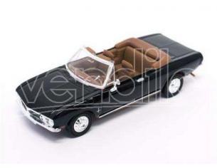 Hot Wheels LDC94241BK CORVAIR MONZA CONVERTIBLE 1969 BLACK 1:43 Modellino
