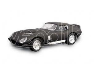Hot Wheels LDC94242MBK SHELBY COBRA DAYTONA COUPE' 1965 MATT BLACK 1:43 Modellino