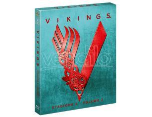 VIKINGS STAGIONE 4 VOLUME 2 DRAMMATICO - BLU-RAY