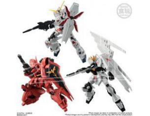 BANDAI SHOKUGAN MS GUNDAM G-FRAME S.1 Display 10 pezzi mini figure 1:10